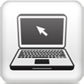 stock-illustration-53647524-white-square-button-with-laptop-icon copy