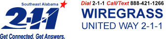 Wiregrass United Way 2-1-1